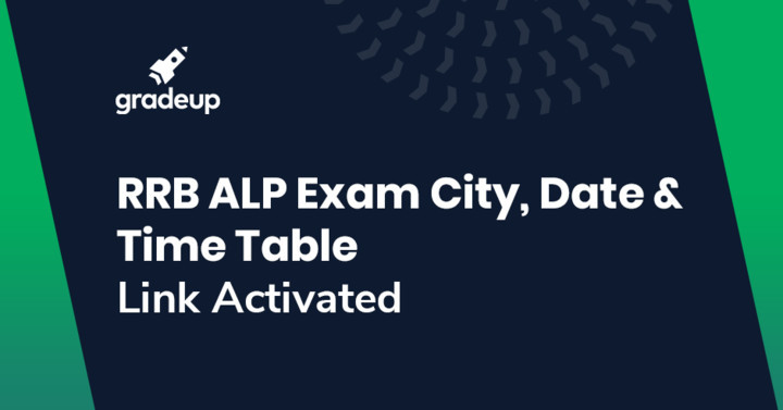 RRB ALP CBT 3 Exam City/Date/Time Table 2019 Out, Check Here!