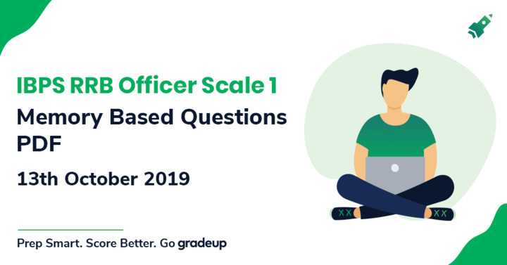 GK Questions asked in IBPS RRB PO Mains 2019 Exam:13th October 2019