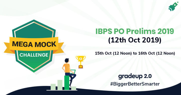Mega Mock Challenge (15th-16th Oct 2019): IBPS PO Prelims Memory Based Questions,13th Oct