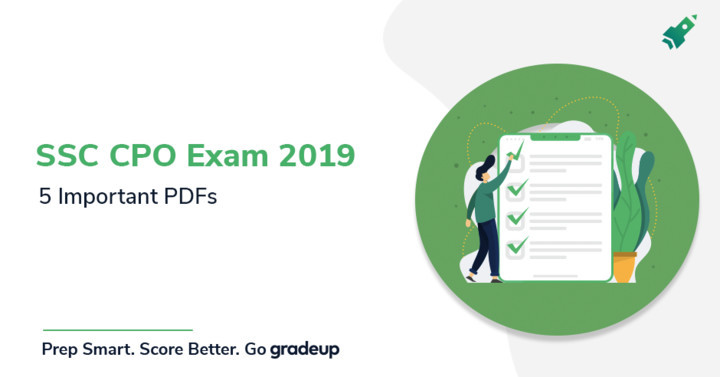 Top 5 Important PDFs for SSC CPO 2019