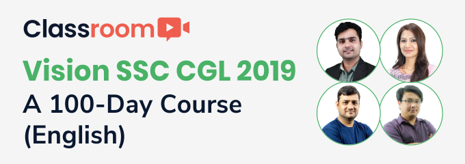 Vision SSC CGL 2019: A 100-Day Course(English)