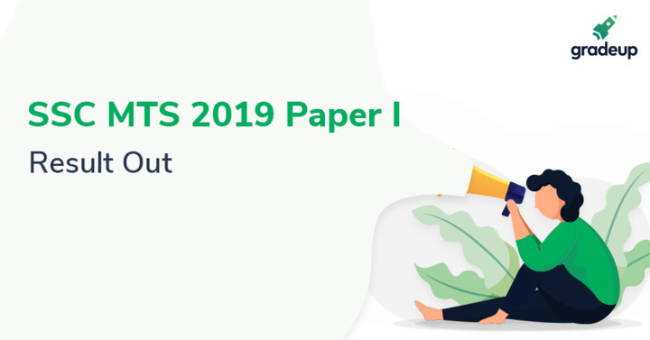 SSC MTS Result 2019 Out, Direct Link to Check SSC MTS Paper 1 Result PDF