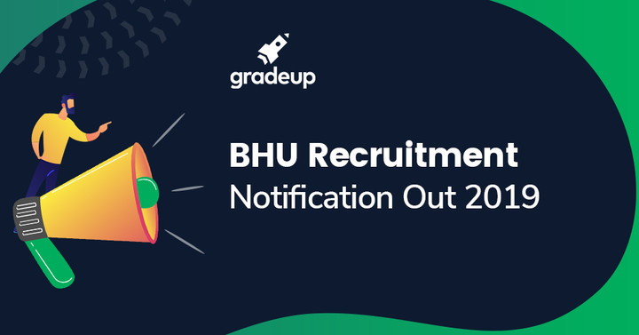 BHU 2019 recruitment Notification out-Apply Online!