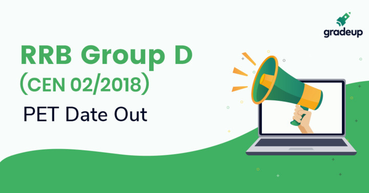 RRB Group D PET Test Date 2019 Out, Check Zone-wise Official