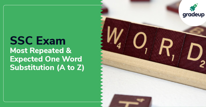 Most repeated & expected one word substitution (A to Z) For