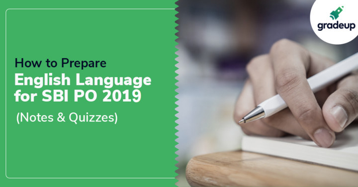 How to Prepare English for SBI PO 2019 Prelims Exam