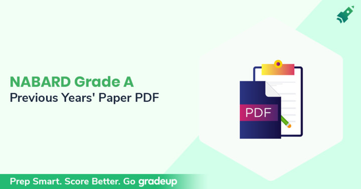 NABARD Grade A Previous Year Question Papers with Answer, Download PDF