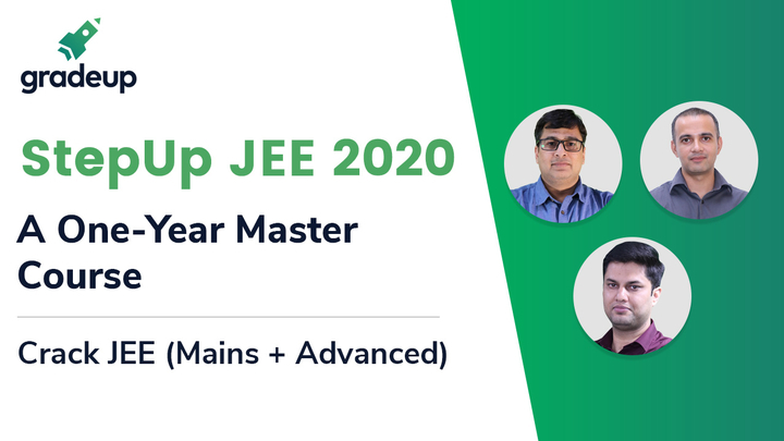 StepUp JEE 2020: A One-Year Master Course
