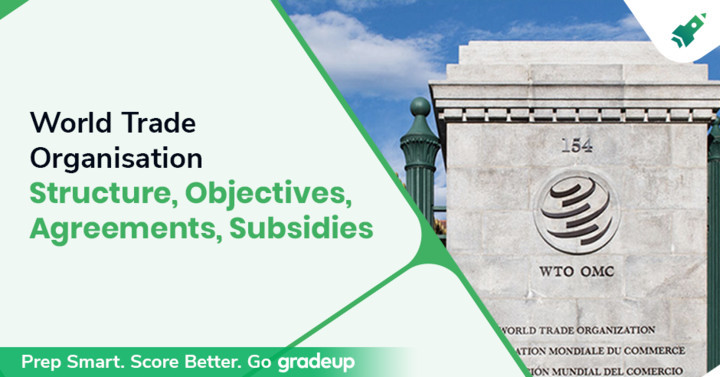 World Trade Organisation: Structure, Objectives, Agreements, Subsidies