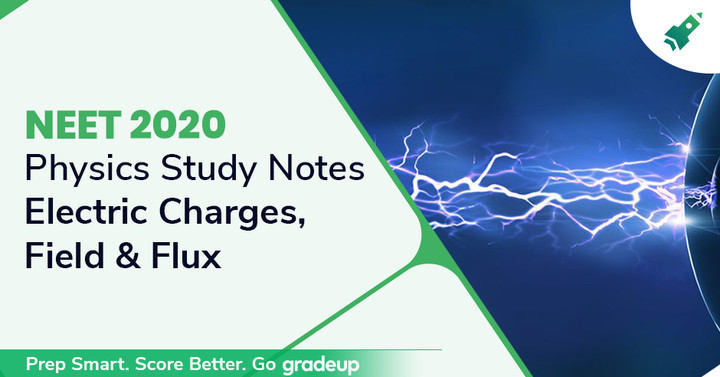 NEET 2020 Study Notes: Electric Charges, Field, & Flux
