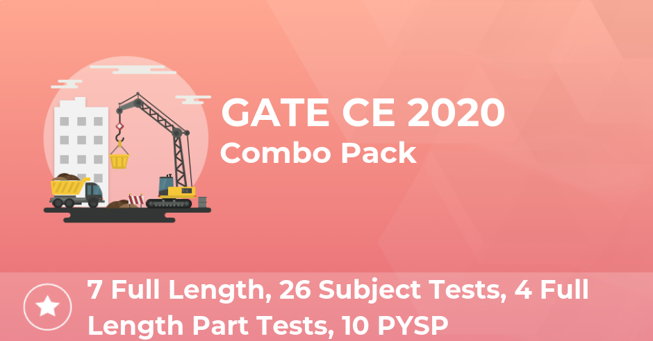 GATE Test Series 2020, Attempt GATE Free Mock Test Online!