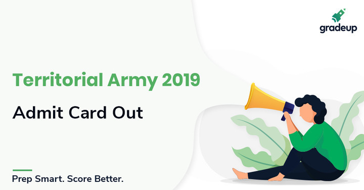 Territorial Army Admit Card 2019 Out, Download @jointerritorialarmy.gov.in