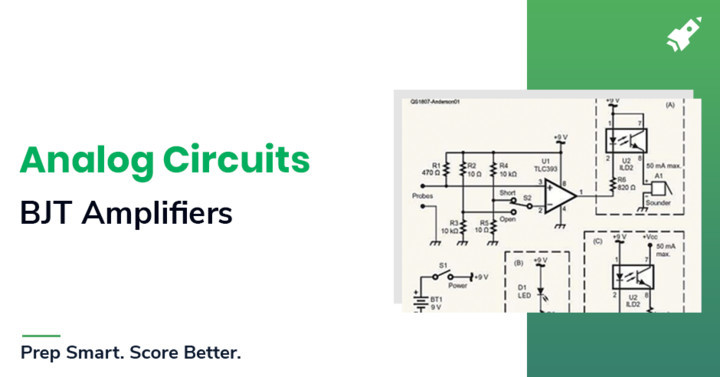 Single stage BJT & MOSFET Amplifiers study notes for