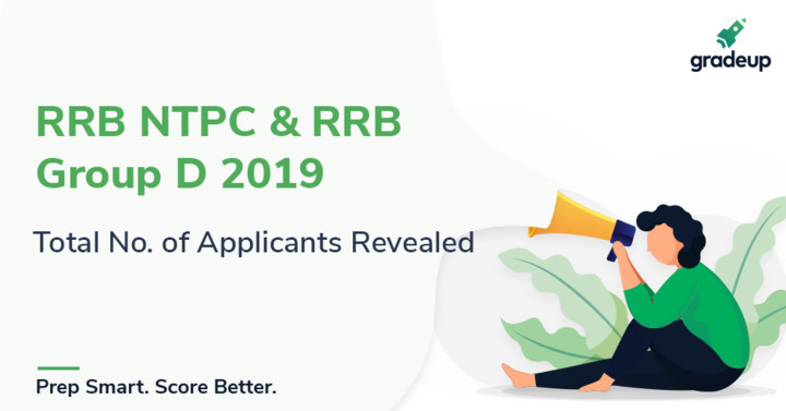 RRB NTPC & RRB Group D 2019: Total No. of Applicants Revealed