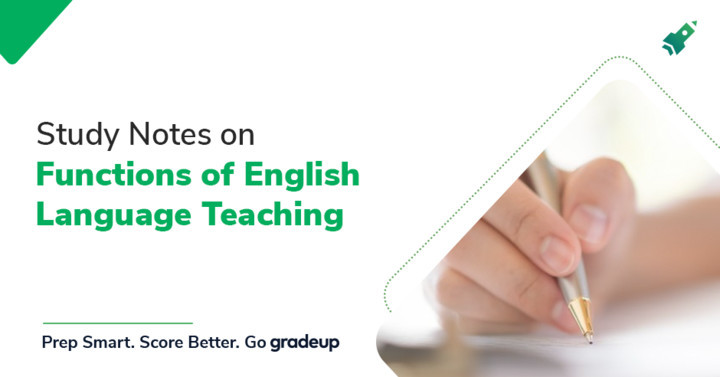 Study Notes on Functions of English Language Teaching