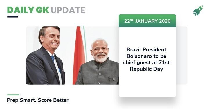 Daily GK Update: 22nd January 2020