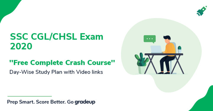 SSC CGL/CHSL Exam 2020: Free Complete Crash Course (with live class links)