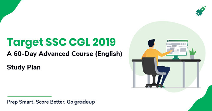 Target SSC CGL 2019: A 60-Day Advanced Course (English): Study Plan