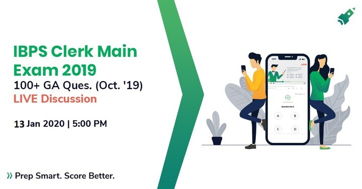 IBPS Clerk Main 2019: 100+ GK Questions (October 2019) | LIVE DISCUSSION