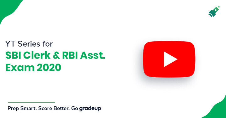 RBI Assistant & SBI Clerk 2020 YouTube Sessions