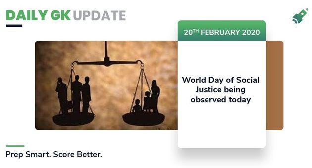 Daily GK Update: 20th February 2020