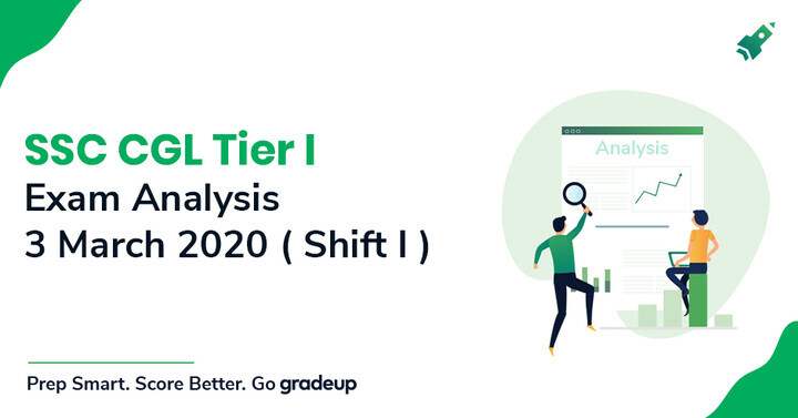 SSC CGL Exam Analysis 2020 3rd March (Shift 1): Tier 1 Exam Review, Difficulty Level