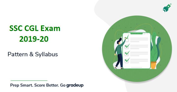SSC CGL Syllabus 2019-20 (Hindi/Eng) Download PDF: SSC CGL Exam Pattern