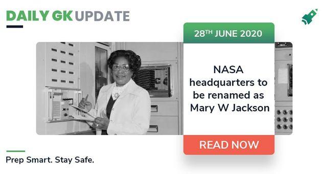 डेली जी.के.अपडेट 28th जून  2020