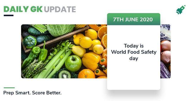 डेली जी.के.अपडेट 7th जून  2020