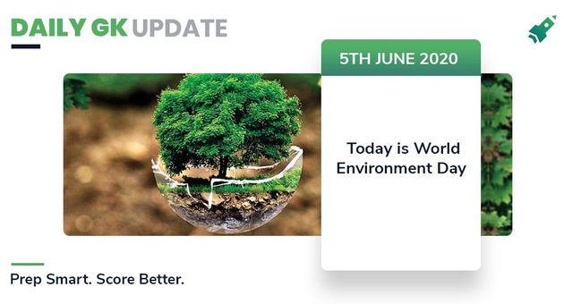 डेली जी.के.अपडेट 5th जून 2020