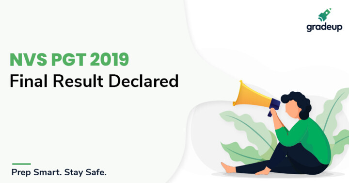 NVS PGT Result 2019-20 Out, Check NVS PGT Cut Off Marks Here