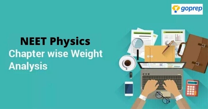 NEET Physics Chapter Wise Weightage 2020