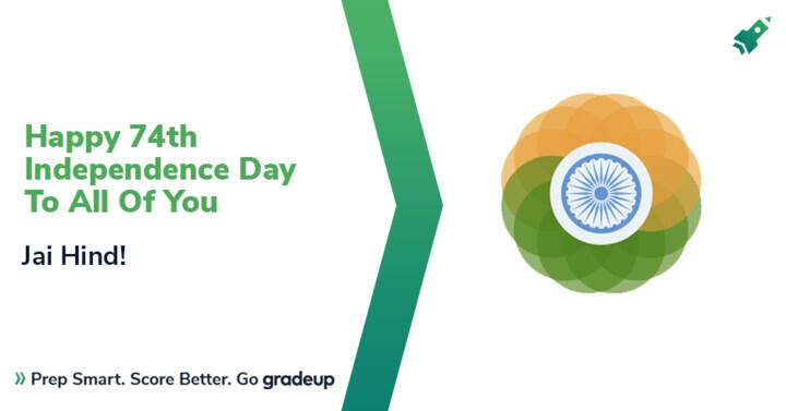 आप सभीको74वें स्वतंत्रता दिवस शुभकामना, जय हिन्द!
