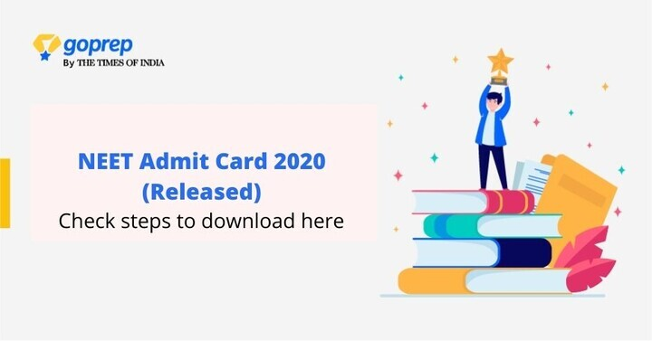 NEET Admit Card 2020 (Released): Download NEET Re-Exam Admit Card Now!