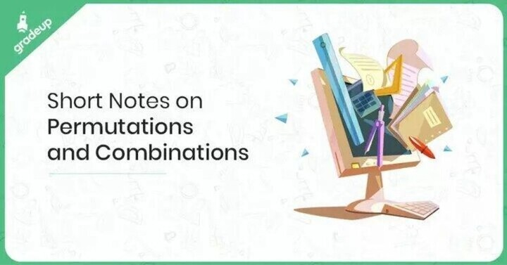 Permutation and Combination Notes for IIT JEE, Download PDF!