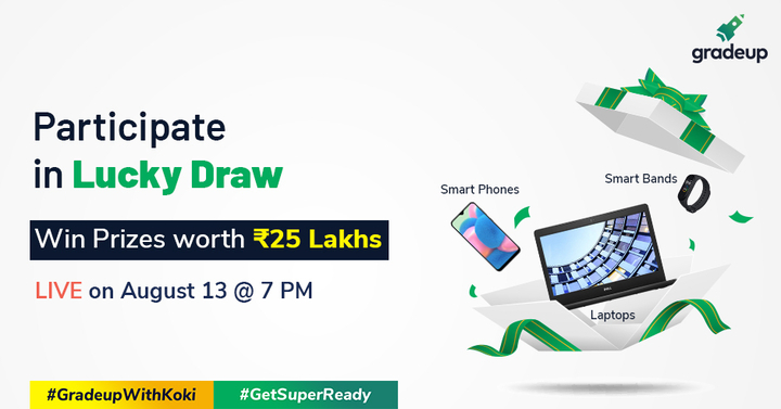 Meet Kartik Aaryan & Get a chance to win Laptop, Smartphone etc. Register Now !