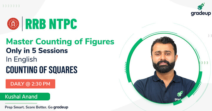 Master the Counting of Figures In 5 Sessions I Counting of Squares | Join us @ 2:30 PM