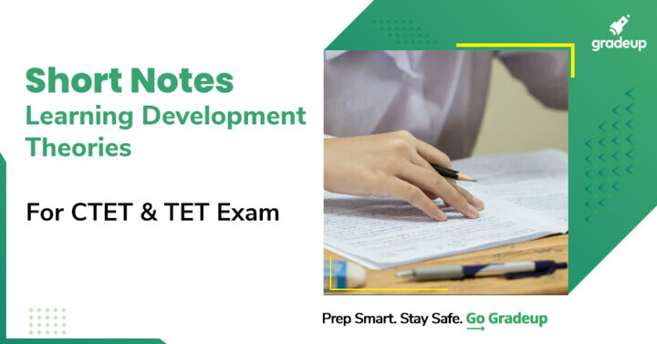 Short Notes on Learning Development Theories for CTET & TET Exam