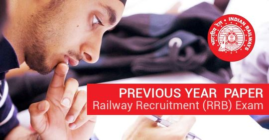 Previous Year Paper of Railway Recruitment (RRB) Exam