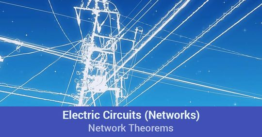 Introduction Of Electric Circuits Networks