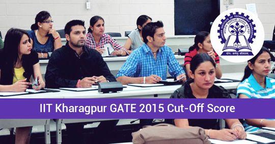 Iit Madras Gate 2015 Cut Off Score