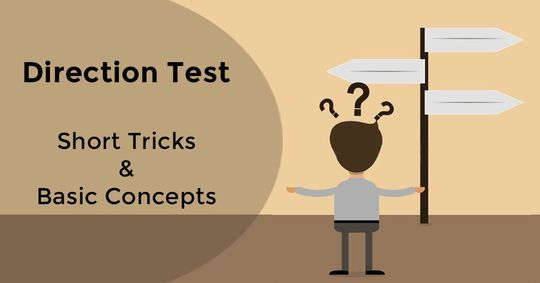 Basic Concepts & Short Tricks to Solve Direction Test Questions